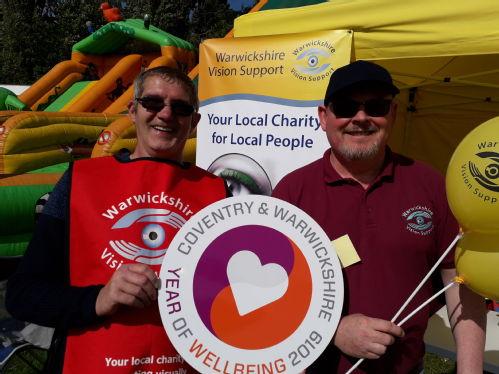 Warwickshire vision support