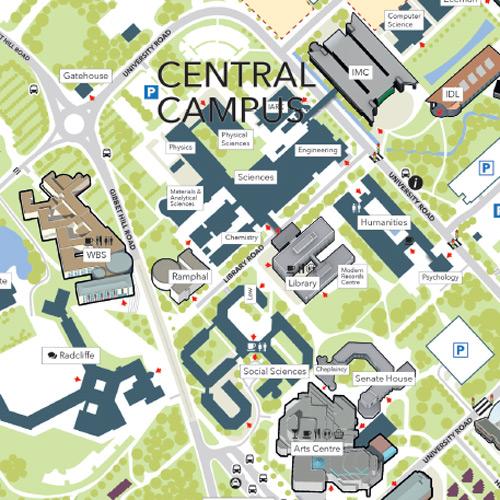 University Of Warwick Map Visiting the University University Of Warwick Map
