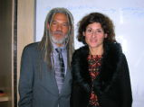 Vincent Brown and Fabienne Viala