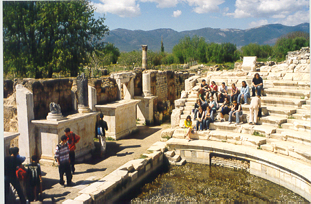 Warwick students at Aphrodisias, 2004