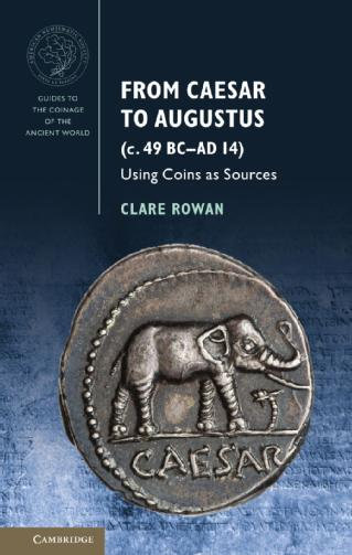 From Caesar to Augustus (49 BC - AD 14: ANS/CUP Guides to the Coinage of the Ancient World, https://bit.ly/2rGyr2z