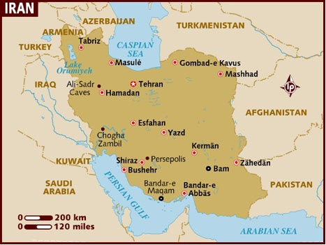 Geographical Context of Persepolis