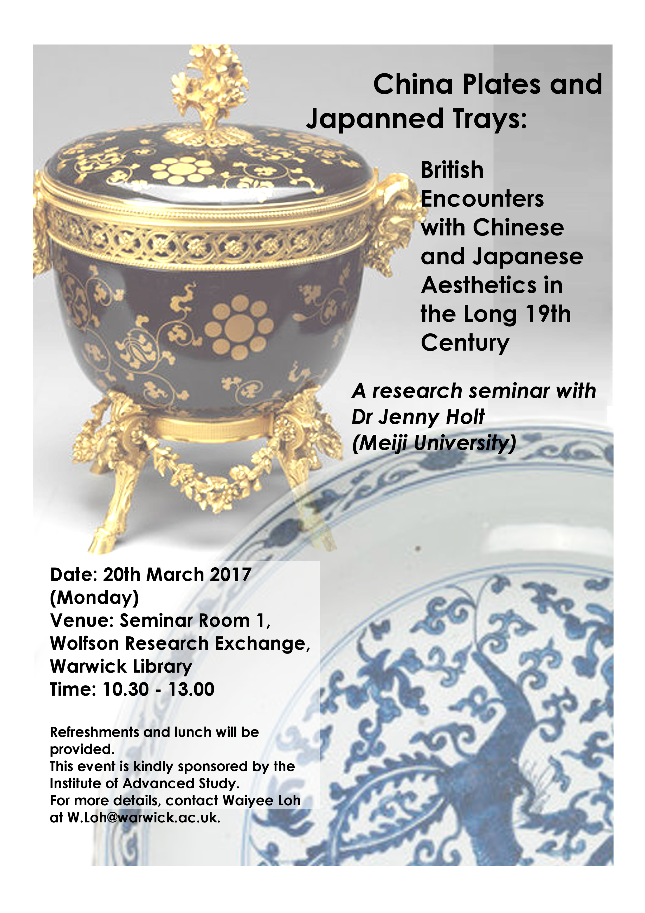 China Plates and Japanned Trays: British Encounters with Chinese and  Japanese Aesthetics in the Long 19th Century