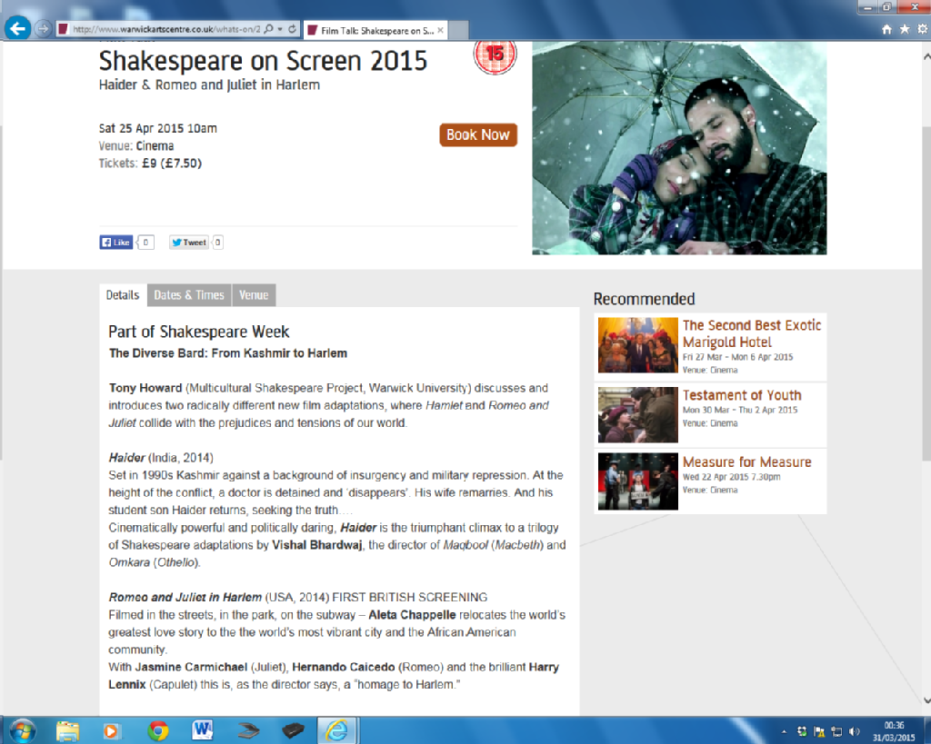 film studies adapting shakespeare Discuss the challenges faced by a film director in adapting shakespeare'a work when bringing it to the big screen, consider the ways that baz lurhman meets these.