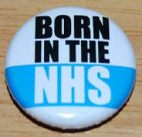 Born in the NHS badge