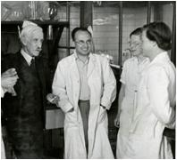 Hopkins in the Laboratories 1941