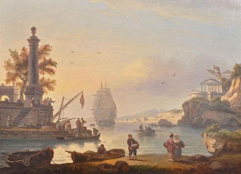 A Mediterranean Port -Open Galleries