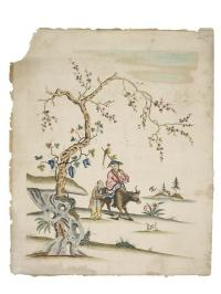 Chinese wallpaper c.1755 Copyright Museum of London