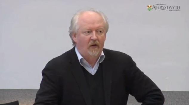 David Anderson at Aberystwyth University