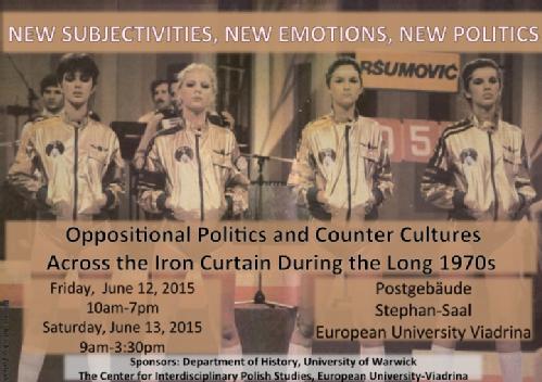 New Subjectivities, New Emotions, New Politics