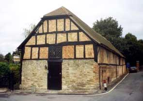 Tithe Barn at Thame (Oxon)