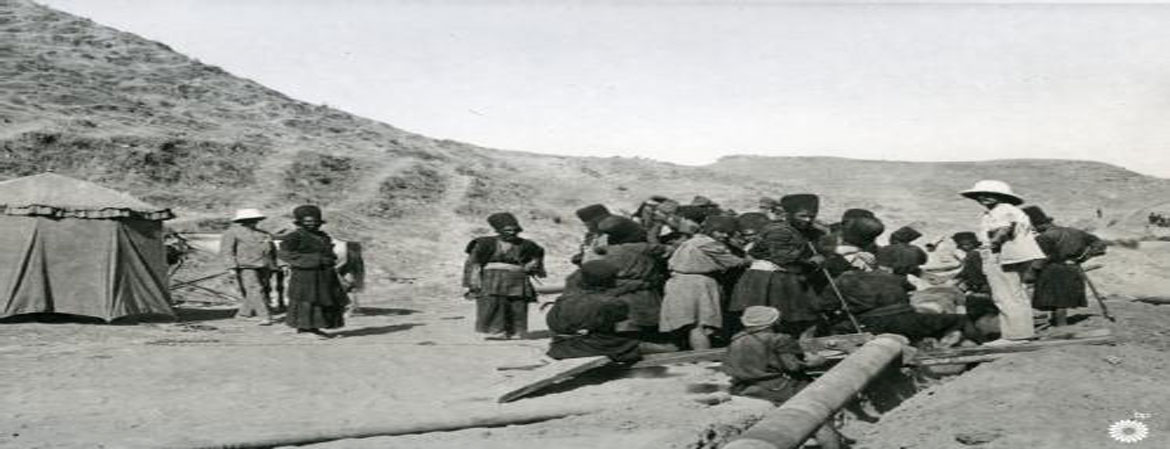 Oil production in imperial times