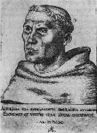 Luther as a Monk by Cranach the Elder
