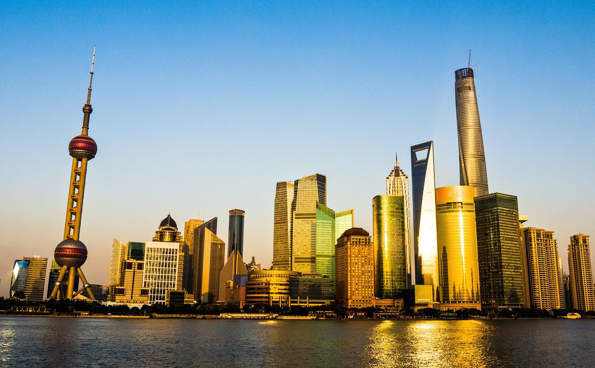 Shanghai Pudong city