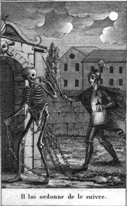 L'ombre de la morte (engraving)