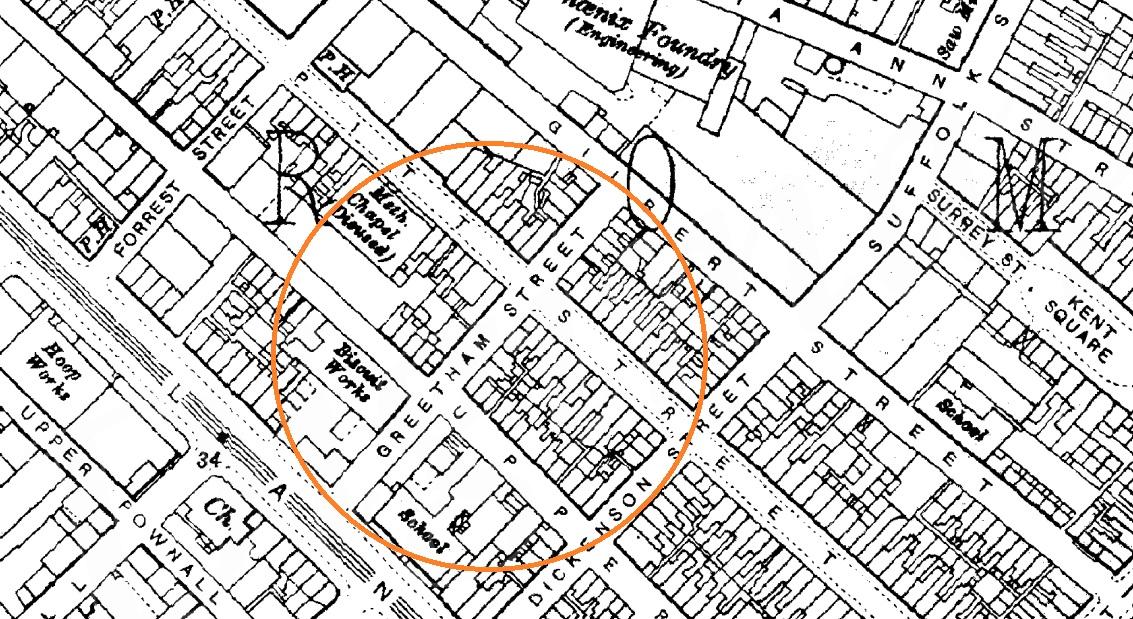 Greetham Street 1908