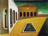 Metaphysical Painting - Piazza d'Italia by Giorgio De Chirico