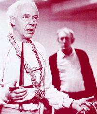Michael Bryant as Hieronimo and Peter Needham as Revenge