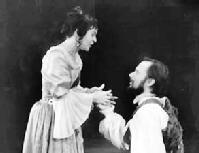 Debbie Harris (Beatrice-Joanna) & Keith Syrett (Alsemero) © The Tavistock Repertory Company