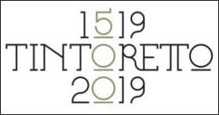 Tintoretto at 500 exhibition logo.
