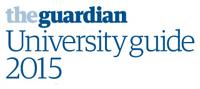 Guardian University Guide 2015