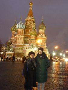 Karen and Liya