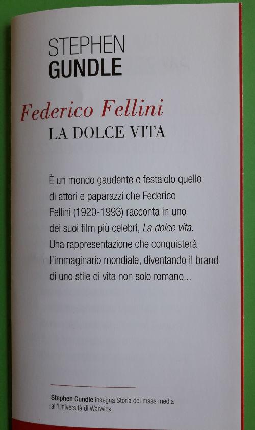 Fellini and La Dolce Vita 2