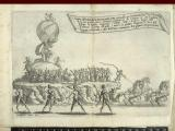 22. Press mark 11426 e 38.   Tournament opera at Florence 1616, entry of the Sun – page 35 of 39.
