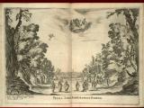 34. Press mark 605 c 39 (2).   Wedding of Ferdinando II, first scene, city of Florence – page 18 of 133.