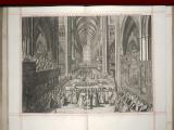 6. Press mark G. 8188.   James II's coronation, 1687, James crowned – page 164 of 237.