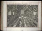 7. Press mark G. 8188.   James II's coronation, banquet in Westminister Hall – page 209 of 237.