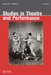 Nicolas Whybrow Article Folkestone Futures: an Elevated Excursion Studies in Theatre and Performance, 36(1), January 2016, pp.58-74.