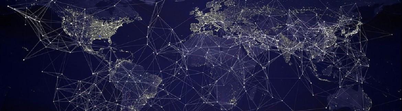 Digital map of earth