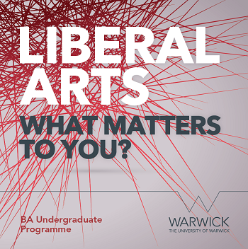 Front cover of the Liberal Arts undergraduate brochure