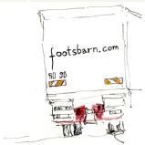 Footsbarn Lorry - Courtesy of Art Soc