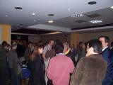gathering at Springer reception