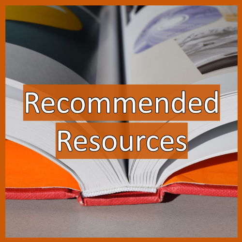 Recommended Resources Button sidebar