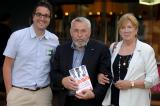 Chris Moran, Tony Mendez and Jonna Mendez
