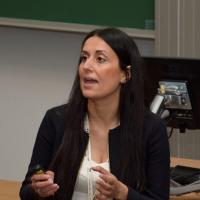 Georgia Kremmyda teaching