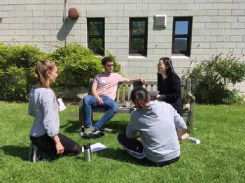 Student Interacting