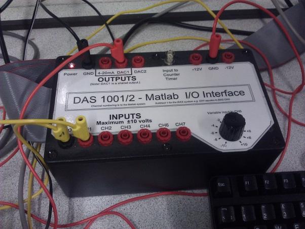 Figure 11: MATLAB I/O Interface