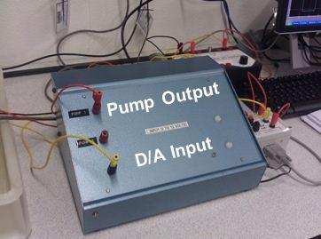 Figure 12: Voltage converter I/O unit