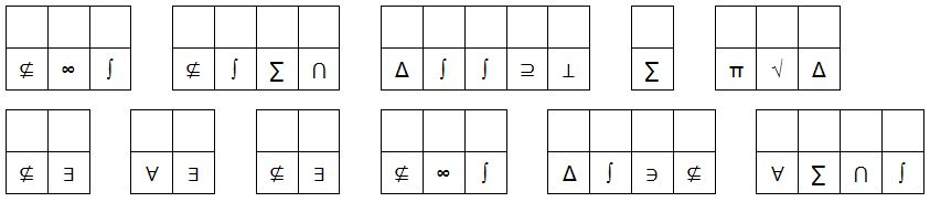 Figure 3: cryptograms (Sports Cryptogram)