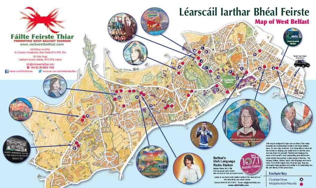 Literary Cartography Dark Tourism in PostTroubles Belfast