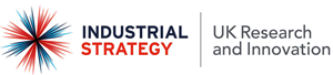 Industrial Strategy UK Research and Innovation logo and link to site