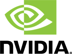 NVIDIA logo and link to site
