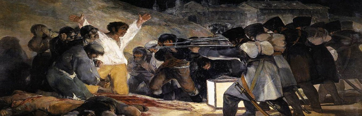 Goya's painting of the Spanish Civil War