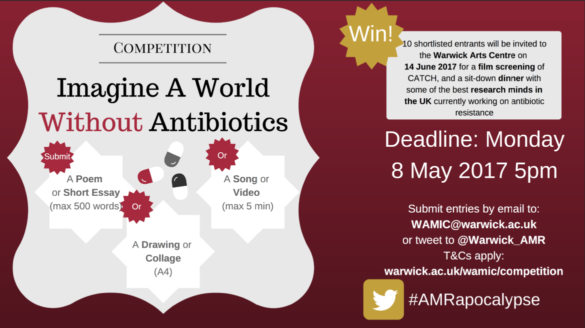 imagine a world out antibiotics competition