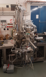 Image of the scanning tunnelling microscope