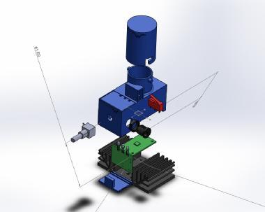 RW75 UV reactor solidworks